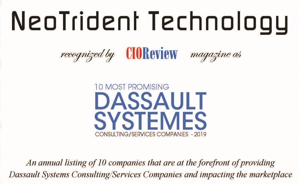 国内唯一!勇往科技入选《CIOReview》全球十大最具发展潜力达索系统合作伙伴